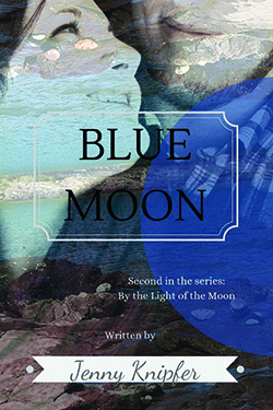 Blue Moon by Jenny Knipfer cover redesign by The Book Cover Whisperer