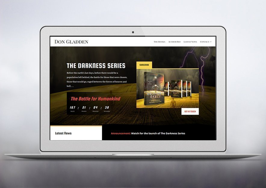 Author & Publisher Website Design by The Book Cover Whisperer