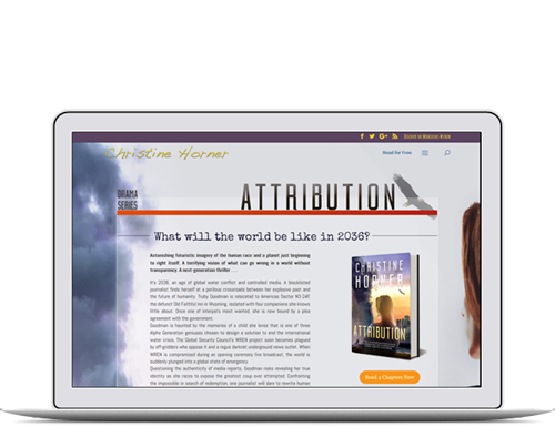 Author and Publisher Website Design by the Book Cover Whisperer